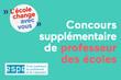 Concours supplémentaire en 2015 pour l'académie de Créteil : publication au journal officiel de l'arrêté