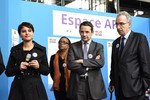 Déplacement de Najat Vallaud-Belkacem et Thierry Mandon : visite du salon Admission Post Bac