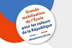 La mobilisation de l'École pour les valeurs de la République se poursuit avec des assises organisées avec l'ensemble de ses partenaires