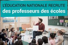 Ouverture des inscriptions au concours supplémentaire de professeur des écoles pour l'académie de Créteil - mardi 7 février 2017 #DevenirEnseignant