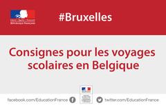 Voyages scolaires en Belgique