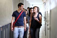 Najat Vallaud-Belkacem se félicite du net regain d'attractivité dans le premier degré