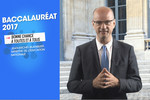Baccalauréat 2017 - Jean-Michel Blanquer