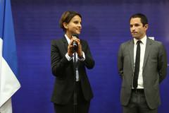 Passation de pouvoir entre Najat Vallaud-Belkacem et Benoît Hamon