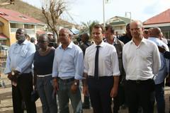 Jean-Michel Blanquer aux côtés du Président de la République à Saint-Martin, pour soutenir nos compatriotes et organiser la reconstruction