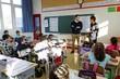Rythmes scolaires : déplacement dans une école de l'académie de Versailles