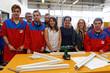 Apprentissage : Najat Vallaud-Belkacem en déplacement dans un lycée des métiers