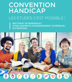 Convention handicap : Les études c'est possible !