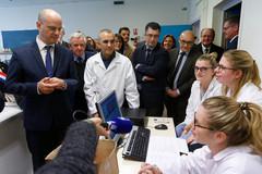 Le lycée de demain s'invente en Normandie : visite de Jean-Michel Blanquer au lycée Galilée de l'académie de Caen