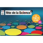 Logo Fête de la science du 7 au 11 octobre 2015