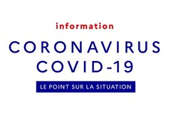 Informations aux familles : coronavirus COVID-19