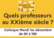 Invitation - Colloque scientifique