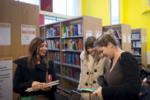 étudiants en bibliothèque