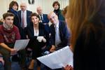 Égalité filles-garçons : déplacement Jean-Michel Blanquer et Marlène Schiappa