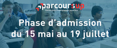 Phase d'admission Parcoursup