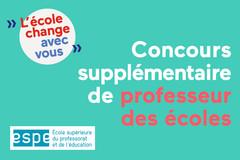 Devenir professeur des écoles dans l'académie de Créteil : ouverture d'un...