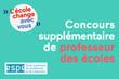 Concours supplémentaire en 2015 pour l'académie de Créteil : 500 postes...