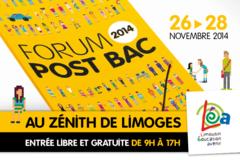 Forum Post-bac au Zénith de Limoges