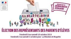 9 - 10 octobre, élections des représentants des parents d'élèves