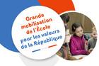 Onze mesures pour une grande mobilisation de l'École pour les valeurs de la République