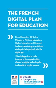 The French Digital Plan For Education