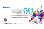 Célébrations des 30 ans d'Erasmus +