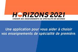 Horizons2021.fr : un outil pour aider les élèves de 2nde à choisir leurs spécialités