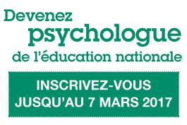 Concours de recrutement des psychologues de l'Éducation nationale (PsyEN)