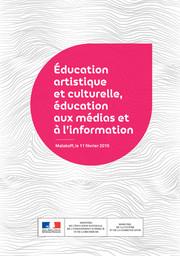 Couv DP éducation artistique et culturelle 2