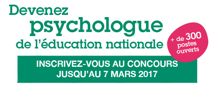 Recrutement des psychologues de l'Éducation nationale