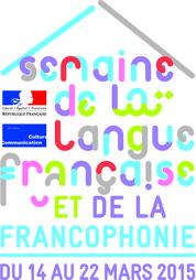 logo semaine de la langue française 2015