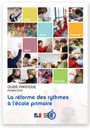 Image du guide pratique 2013 - R&eacute;forme des rythmes &agrave; l'&eacute;cole primaire