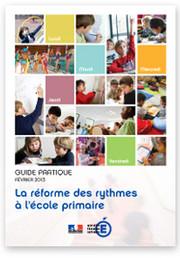 Image du guide pratique 2013 - Réforme des rythmes à l'école primaire