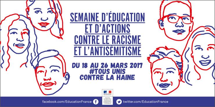 bannière Semaine contre le racisme 2017