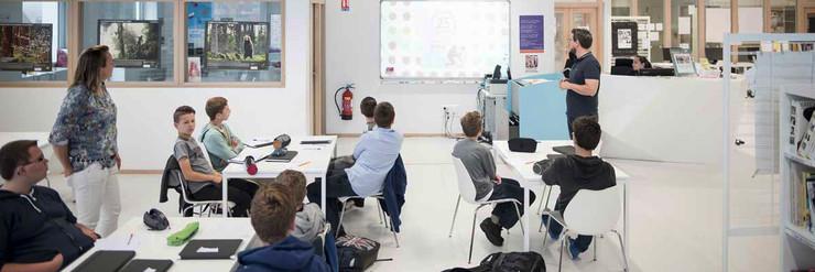Salle de classe - Les acteurs