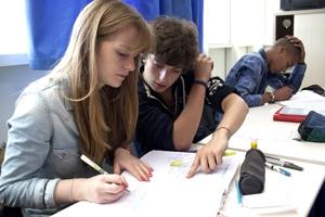 lycéens en classe