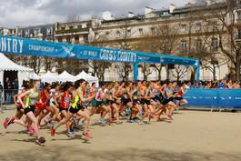 Lancement du championnat mondial de cross-country scolaire