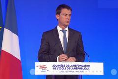 Manuel Valls clôture les journées de la Refondation de l'école