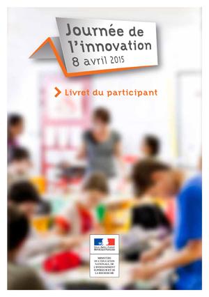 Journée Innovation 2015 livret participant