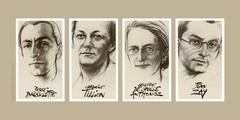 Pantheon_hommage aux quatre figures de la Résistance
