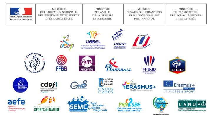 Logos partenaires ASEU