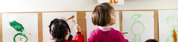bannière journée des arts à l'école