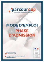 Mode d'emploi - Phase d'admission