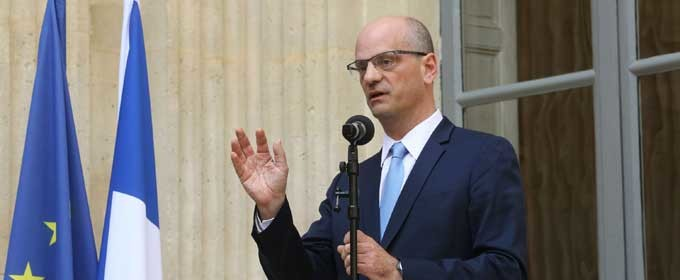 Jean-Michel Blanquer nommé ministre de l'Éducation nationale