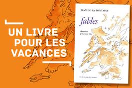 Un livre pour les vacances 2018 : Les Fables de La Fontaine, illustrées par Joann Sfar