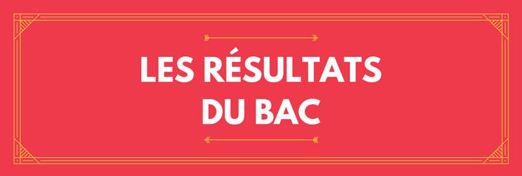 Les résultats du bac 2017