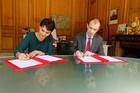 Découverte professionnelle : signature d'une convention avec l'Agirc et l'Arrco