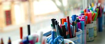 pots crayons école