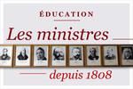 Les ministres de l'éducation
