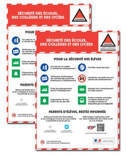 Visuel infographies sécurité